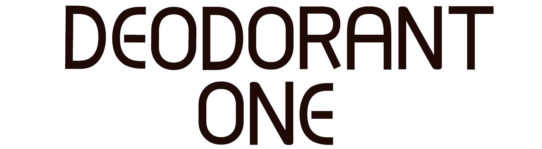 deodorant one logo